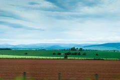 乡下全景在苏格兰 免版税库存图片