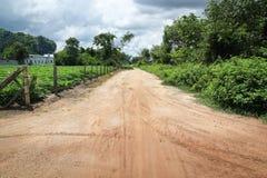 乡下公路越南 免版税库存照片