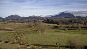 乡下和Puy de Dome 库存图片