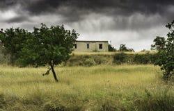 乡下在卡拉布里亚 免版税库存照片