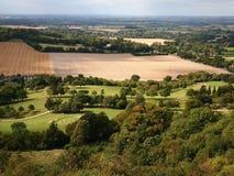 乡下在英国 库存图片