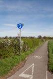 乡下循环运输路线 库存照片