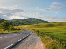 乡下意大利托斯卡纳 图库摄影