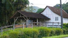 乡下房子 库存图片