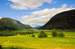 乡下挪威 免版税库存照片