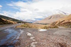 乡下横向高地苏格兰 免版税库存照片