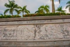 乡下生活带状装饰装饰  米里市爱好者公园,婆罗洲,沙捞越,马来西亚 免版税图库摄影