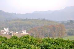 乡下的秀丽在中国 免版税图库摄影