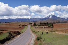 乡下秘鲁 免版税库存照片