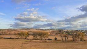 乡下风景在秋天,时间间隔 股票录像