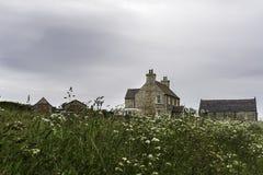 乡下风景在约翰o `少量附近的一个区域 库存图片