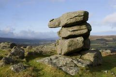 乡下dartmoor 免版税库存照片