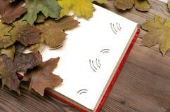 乡情概念 回忆录 与空白页的空白的葡萄酒象册书与拷贝空间 免版税库存图片