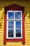 乡村模式的视窗 库存图片