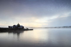 乡间别墅少许海运瑞典 免版税图库摄影