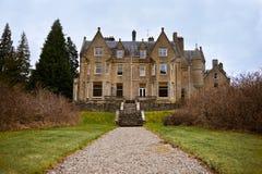 乡间别墅苏格兰人 库存照片