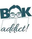 书上瘾者例证 向量例证