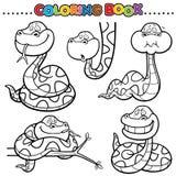 书五颜六色的彩图例证 向量例证