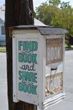 书交换 库存照片