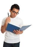 书人读取认为 免版税库存照片