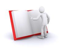 书人读谁 免版税库存照片