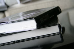 书位置表 免版税库存照片
