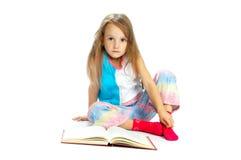 书儿童读取 免版税库存图片