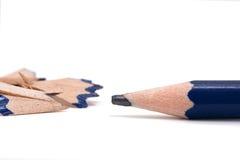 宏观铅笔 免版税库存图片