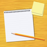书写工作 向量例证