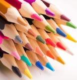 书写所有颜色 图库摄影