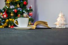 书和咖啡 库存照片