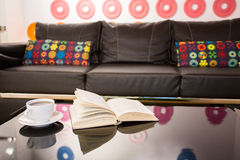 书和咖啡 免版税图库摄影