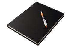书和笔 免版税库存照片
