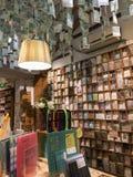 书和纪念品商店在中国 库存照片
