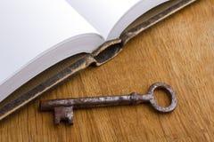 书和钥匙 库存照片