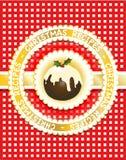书圣诞节食谱 免版税库存照片