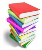 书堆积了 免版税库存图片