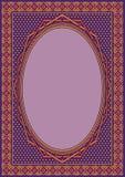 书套或贺卡背景模板的伊斯兰教的装饰品艺术 图库摄影