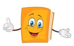 书字符集合动画片 逗人喜爱的书传染媒介例证 库存例证