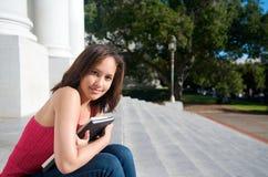 书学员文本年轻人 免版税库存图片