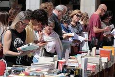 书市在马略卡012 图库摄影