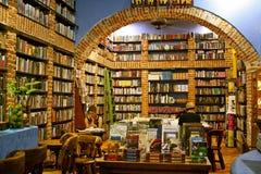 书店卡塔赫钠哥伦比亚 免版税库存照片