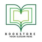 书店商标 向量例证
