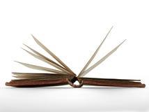 书开张了被定调子的页s乌贼属 免版税库存照片