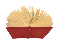 书开放红色 库存图片