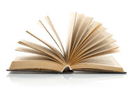 书开放页传播 图库摄影