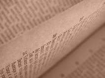 书开放页 免版税图库摄影