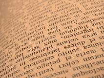 书开放页 免版税库存图片