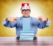 书指向 免版税库存图片