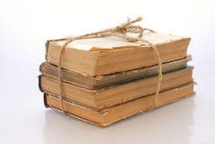 书捆绑老 免版税图库摄影